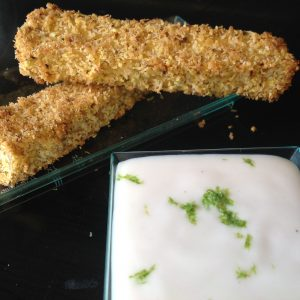 Creamy Yogurt-Lime Dipping Sauce